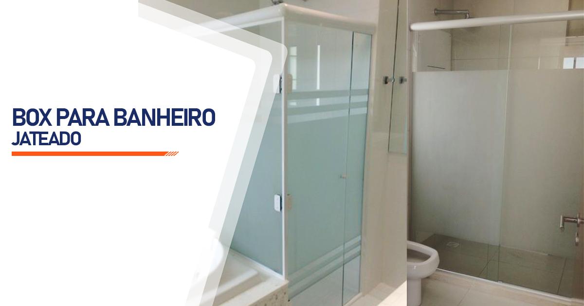 Box Jateado para Banheiro Cascavel