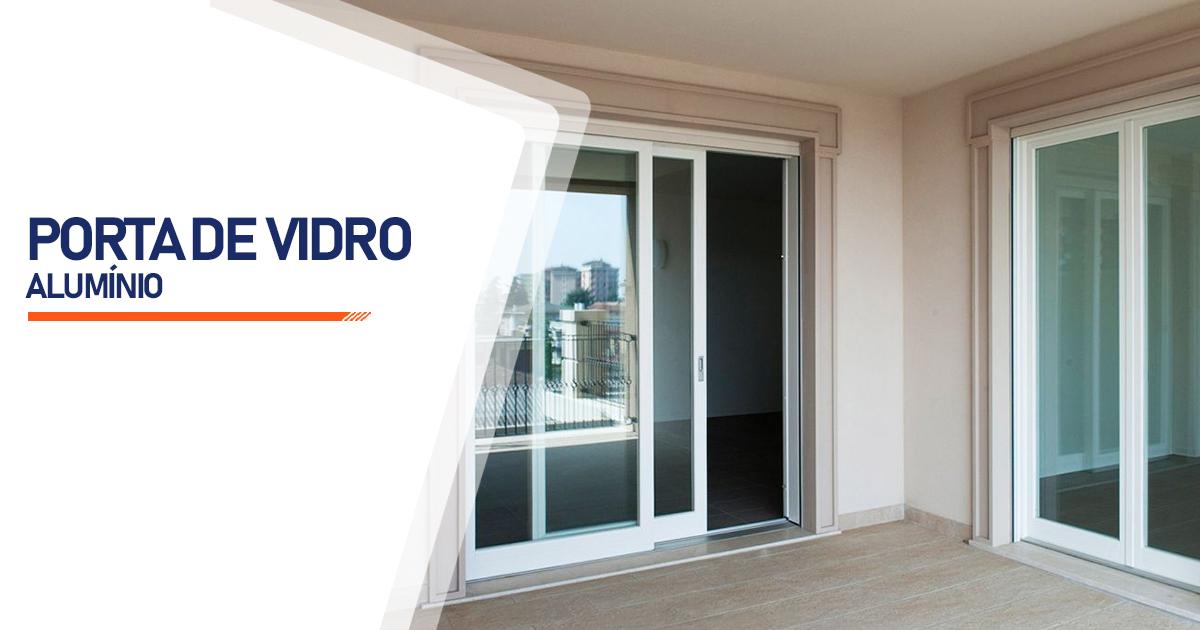 Porta De Vidro Aluminio Cascavel