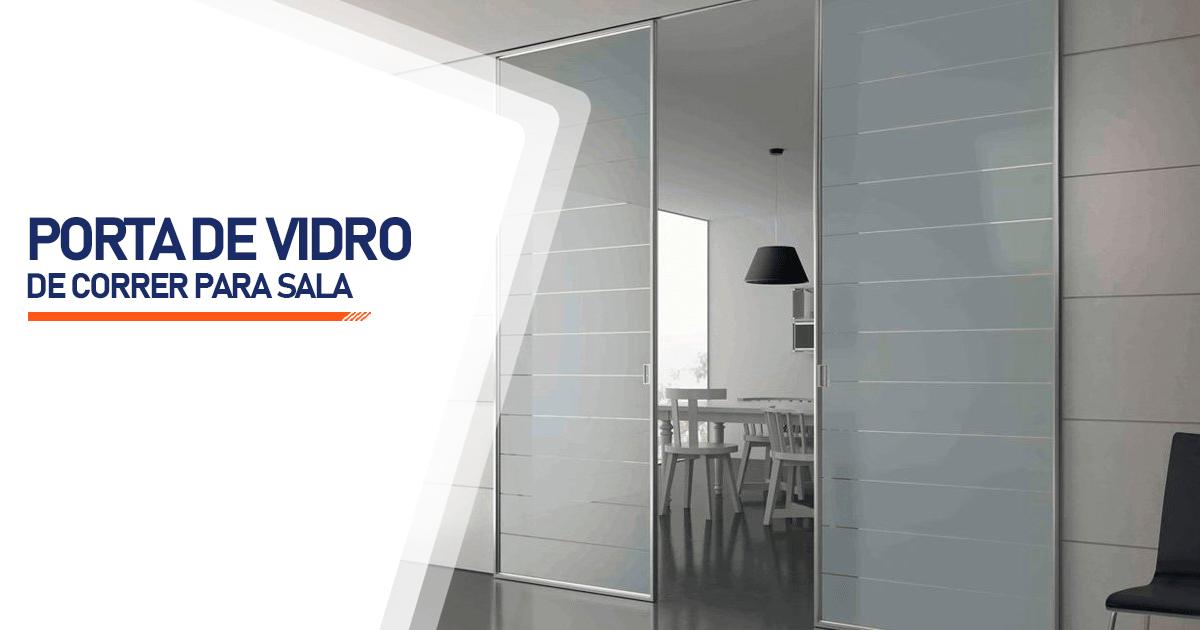 Porta De Vidro De Correr Para Sala Cascavel